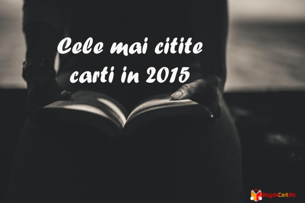 cele mai citite carti in 2015