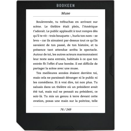 eBook Reader Bookeen Cybook Muse, E Ink Pearl ™, 167dpi, 2GB, Wi-Fi, Negru