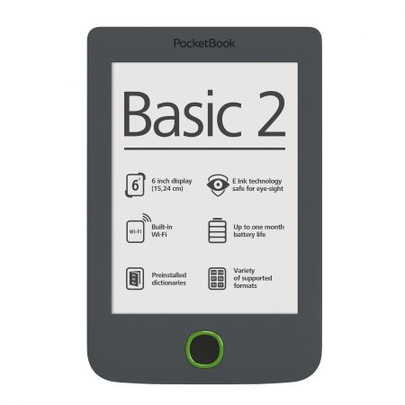 eBook Reader Pocketbook Basic 2, 4GB, Gri